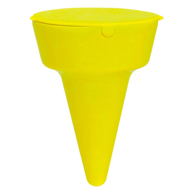 Beach ashtray - yellow