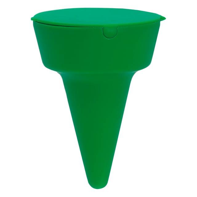 Beach ashtray - green