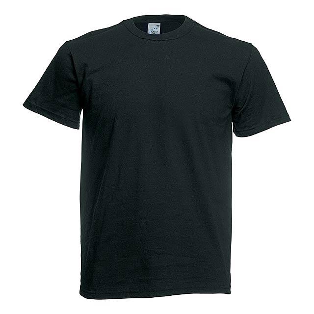 Original barevné tričko - černá