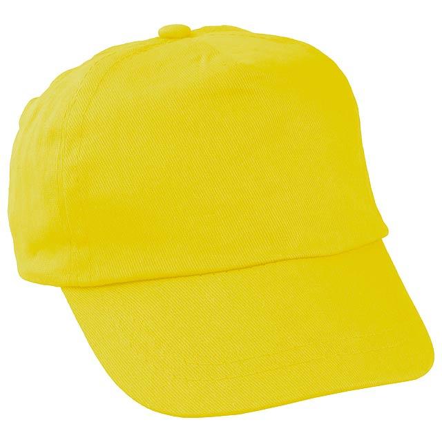 9512948f2 Detská čiapka - žltá, Reklamné predmety - Promo Direct