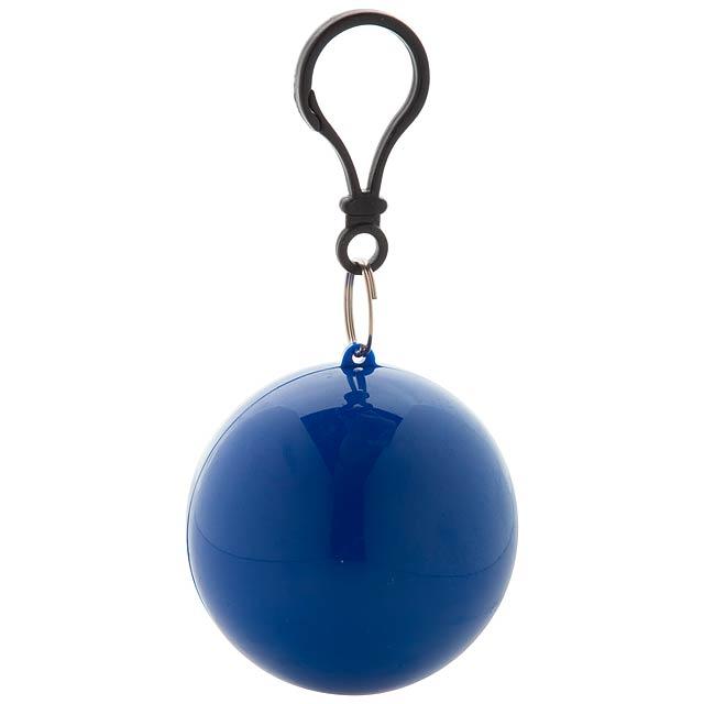 Rany dětská pláštěnka v klíčence - modrá