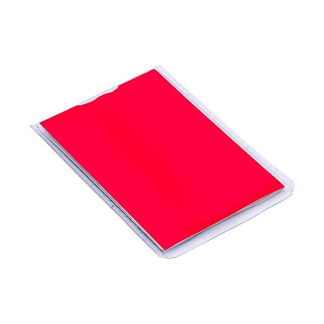 Bent svítilna - červená