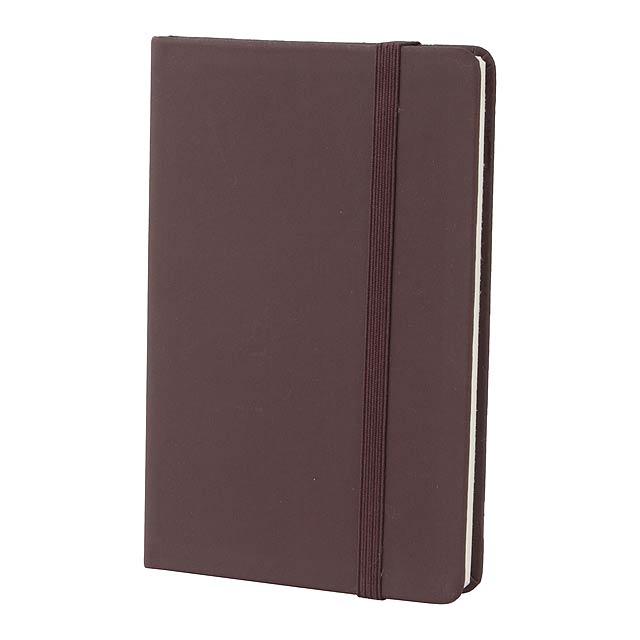 Kine zápisník - hnědá