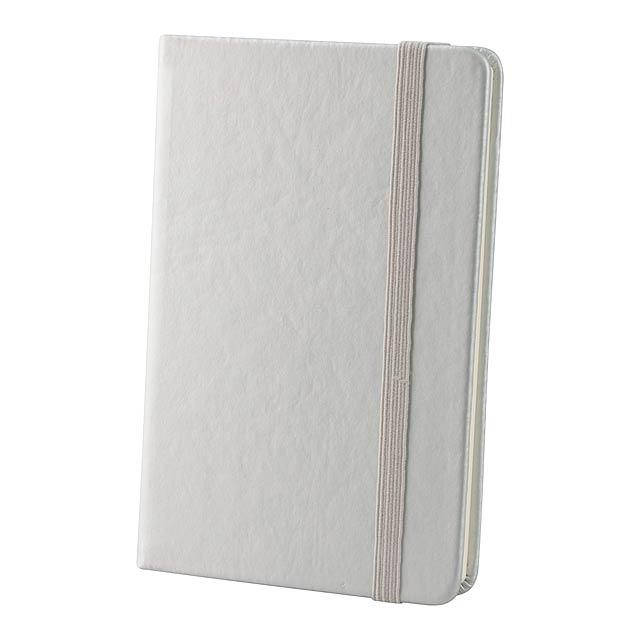 Kine zápisník - stříbrná