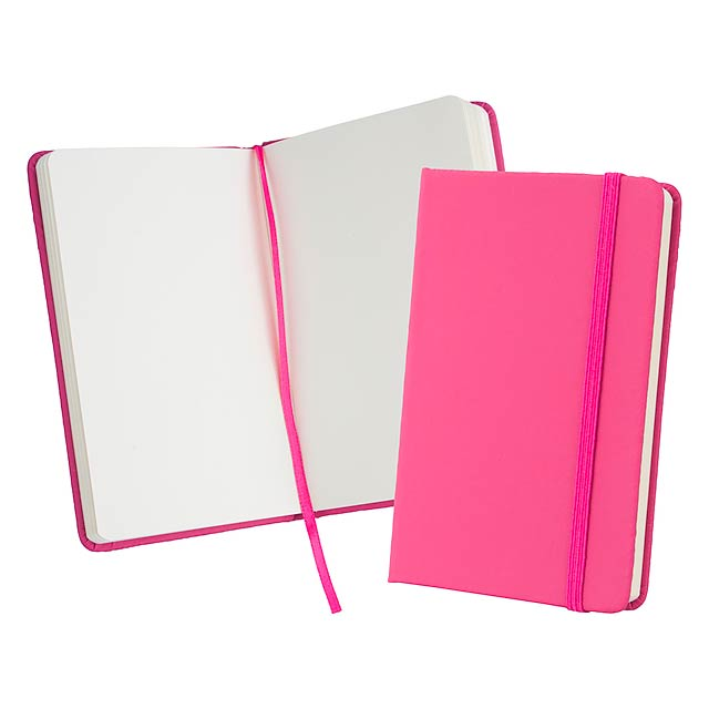 Kine zápisník - fuchsiová (tm. růžová)