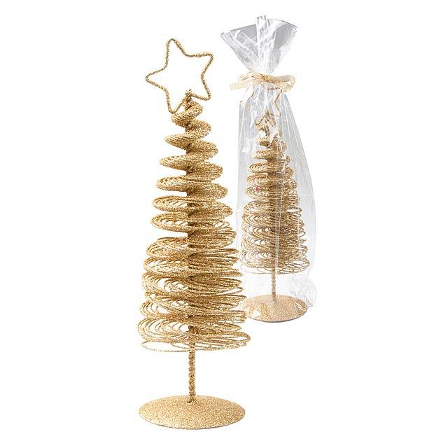 Dido vánoční ministromek - zlatá
