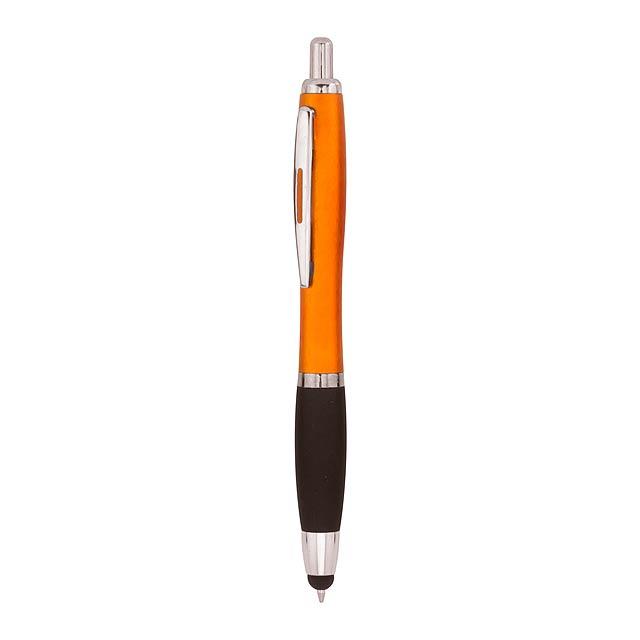 Fatrus dotykové kuličkové pero - oranžová
