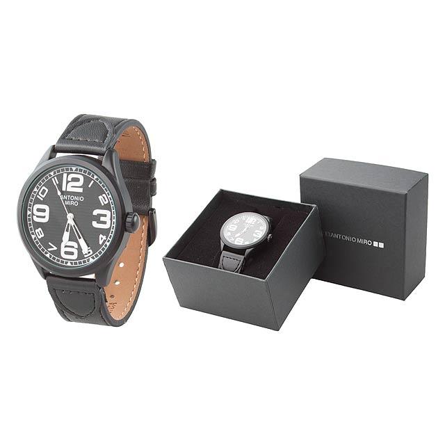 Orion hodinky - černá