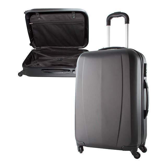 Kafal kufr na kolečkách - černá
