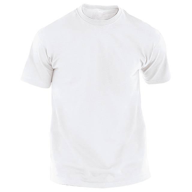 Hecom White bílé tričko pro dospělé - bílá