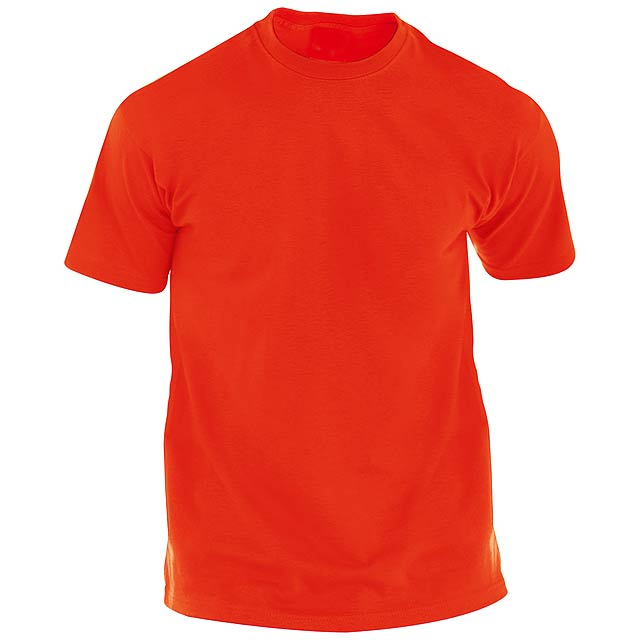 Hecom barevné tričko pro dospělé - červená