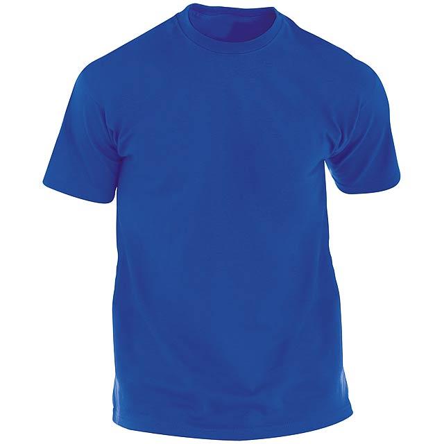 Hecom barevné tričko pro dospělé - modrá