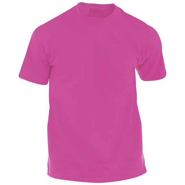 Hecom barevné tričko pro dospělé - růžová