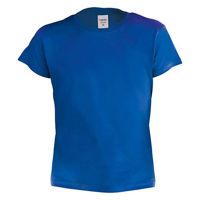 Hecom Kid barevné dětské tričko - modrá