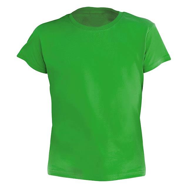 Hecom Kid barevné dětské tričko - zelená