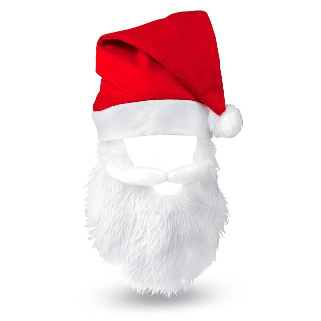 Egiox čepice Santa Clause - červená
