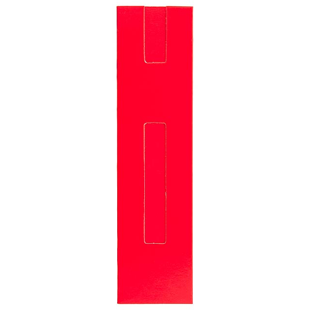 Pen cases - red