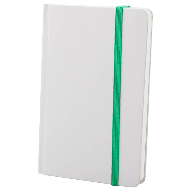 Yakis poznámkový blok - zelená
