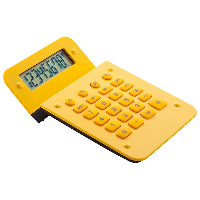 Nebet - calculator - yellow