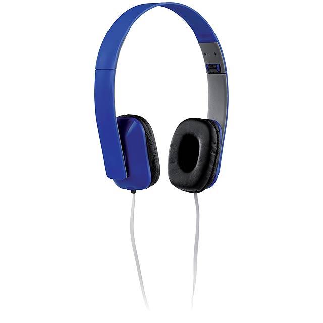 Yomax sluchátka - modrá
