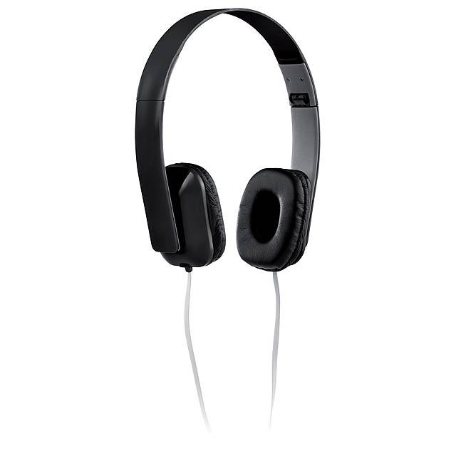 Yomax sluchátka - černá