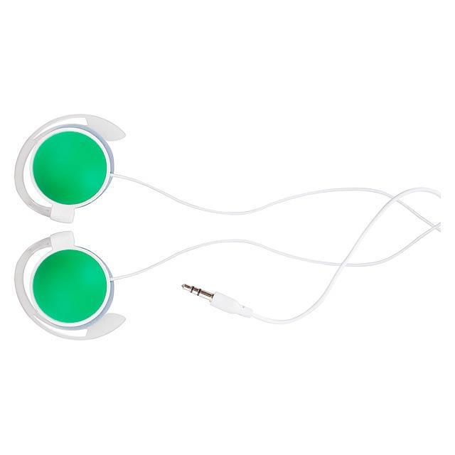 Madox sluchátka - zelená