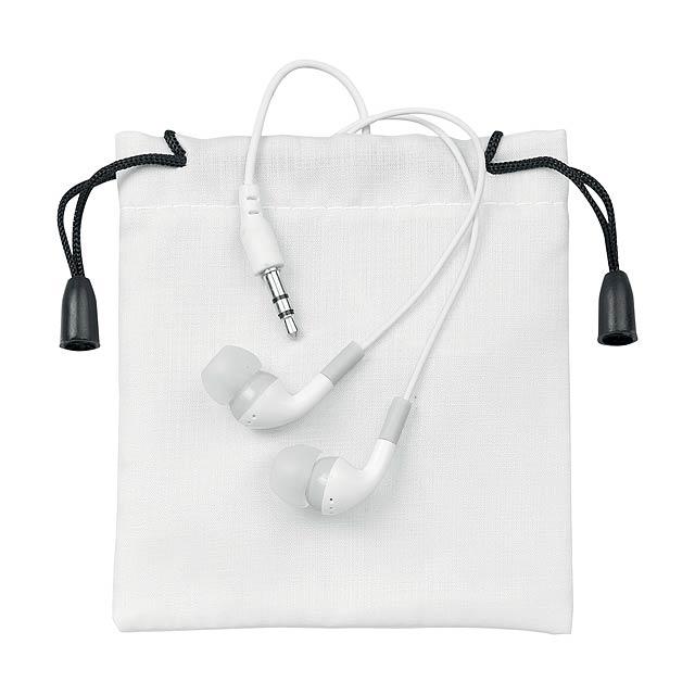 Cimex sluchátka - biela