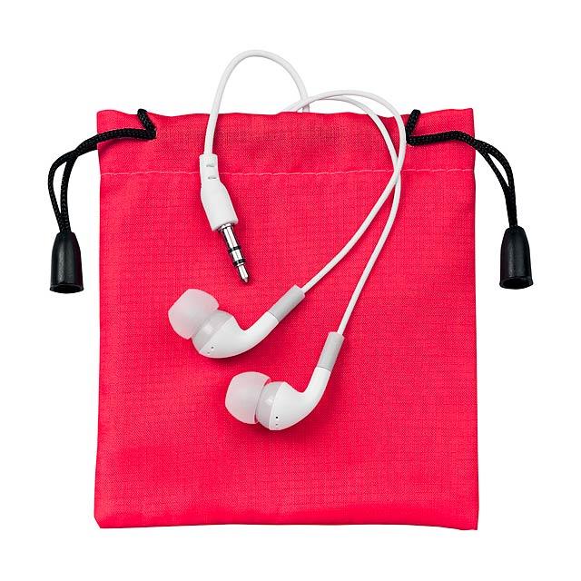 Cimex sluchátka - červená