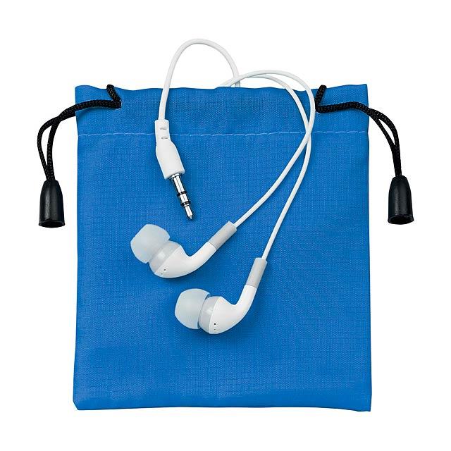 Cimex sluchátka - modrá