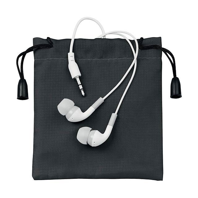Cimex sluchátka - čierna