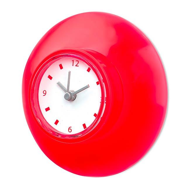 Yatax nástěnné hodiny - červená