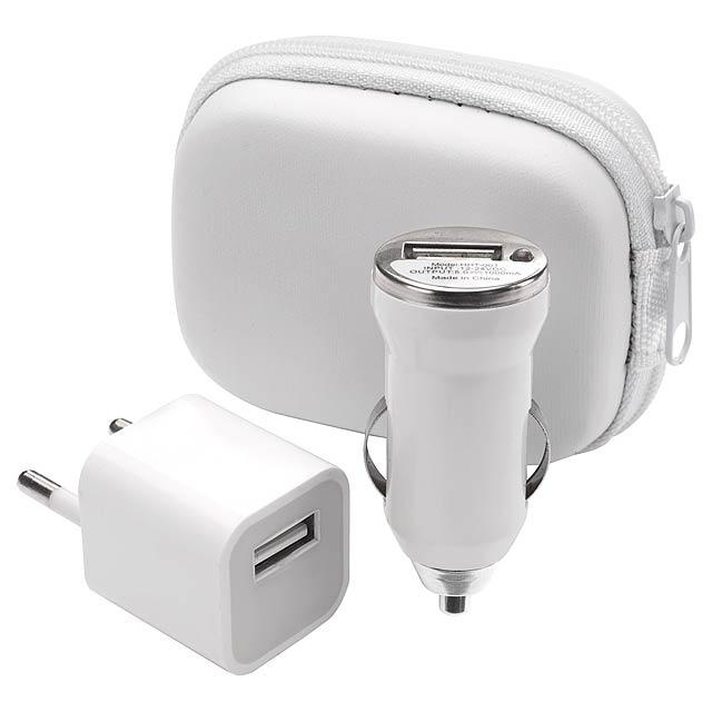 Canox USB nabíječka - bílá