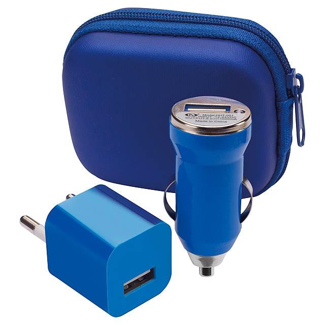 Canox USB nabíječka - modrá