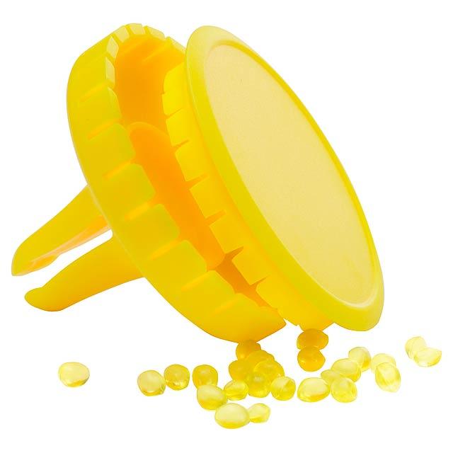 Scrib osvěžovač vzduchu do auta - žlutá