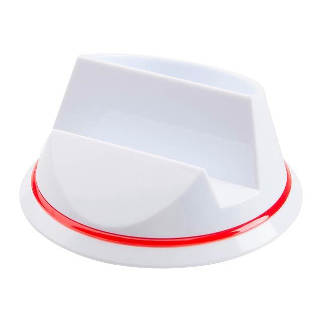 Polux stojánek na mobil - červená