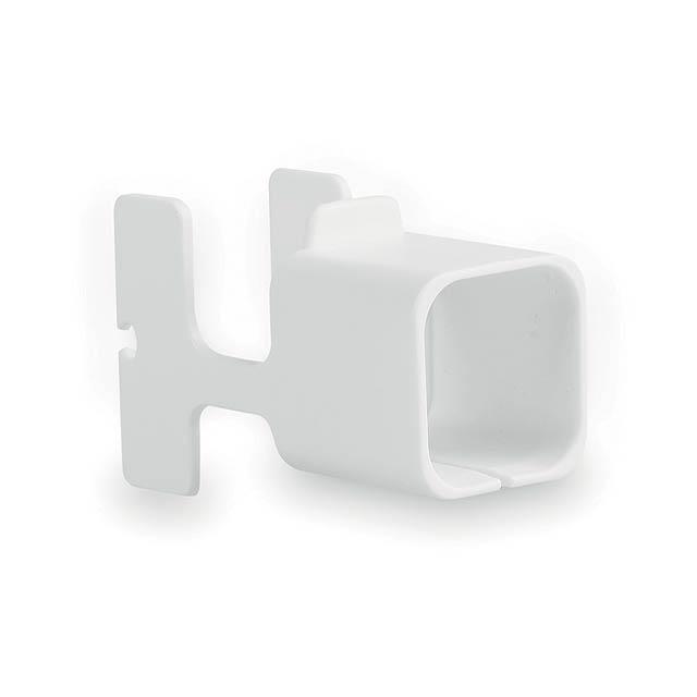 Fonex držák na nabíječku - bílá