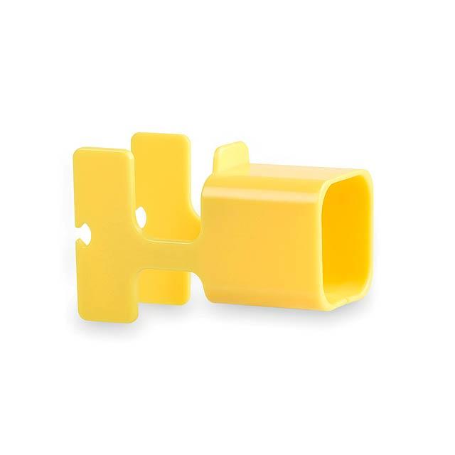 Fonex držák na nabíječku - žlutá