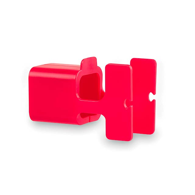 Fonex držák na nabíječku - červená