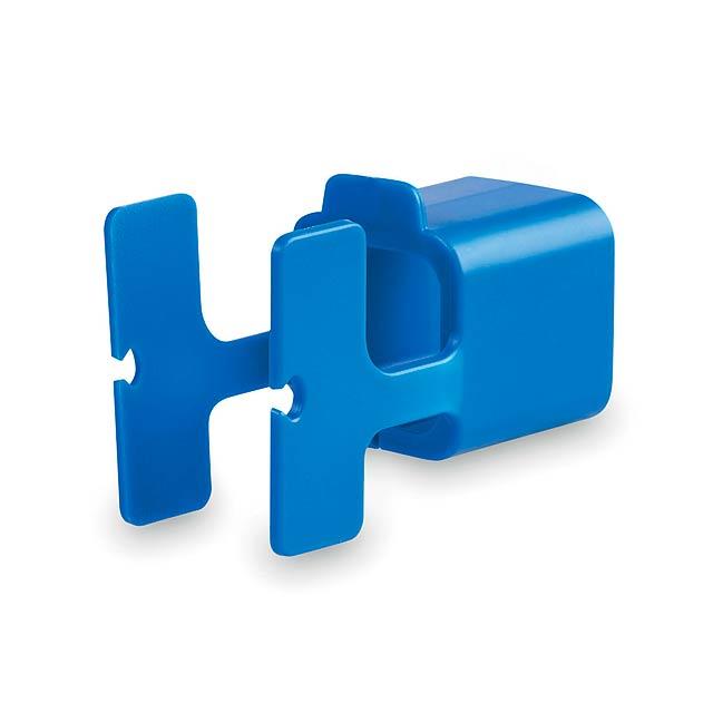 Fonex držák na nabíječku - modrá