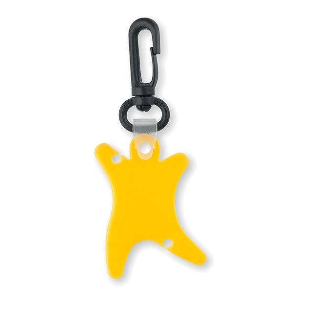 Bael klíčenka - žlutá