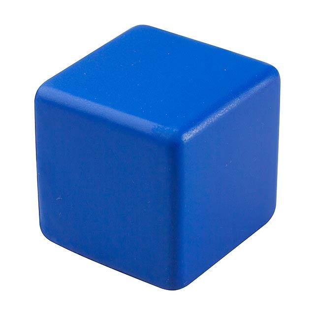 Kubo antistresová kostka - modrá
