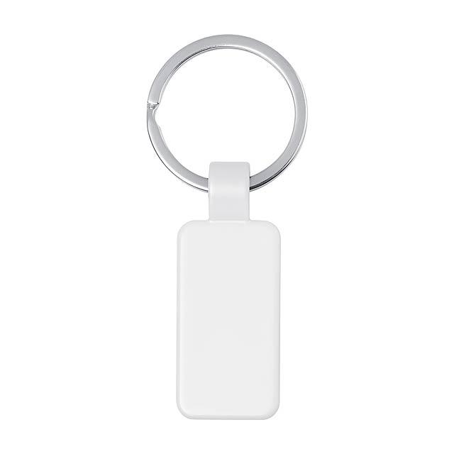 Doros přívěšek na klíče - bílá