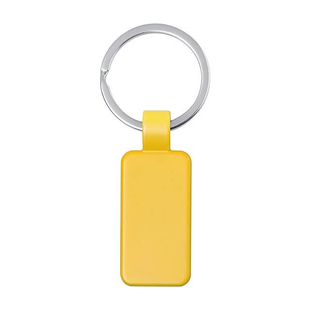 Doros přívěšek na klíče - žlutá