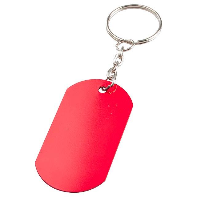 Nevek přívěšek na klíče - červená