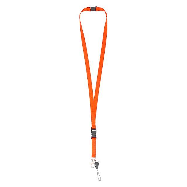Briol lanyard - oranžová