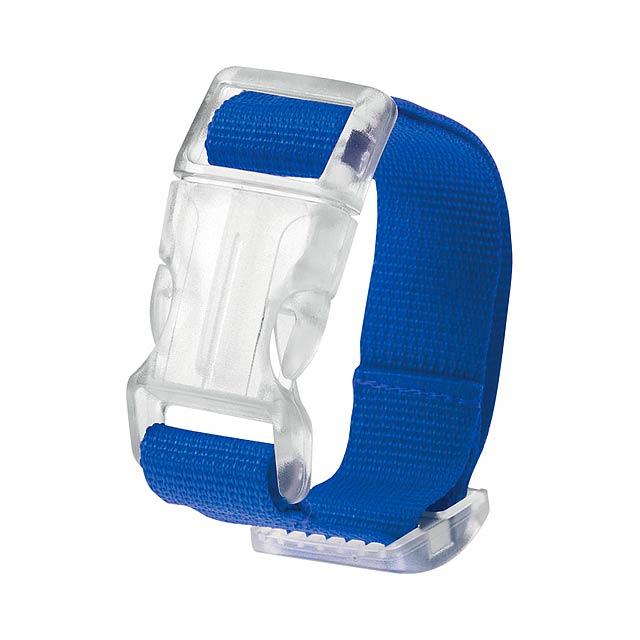Kuyax popruh na zavazadla - modrá