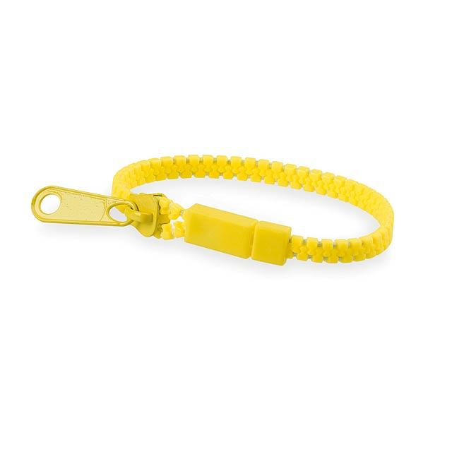 Hirion náramek - žlutá