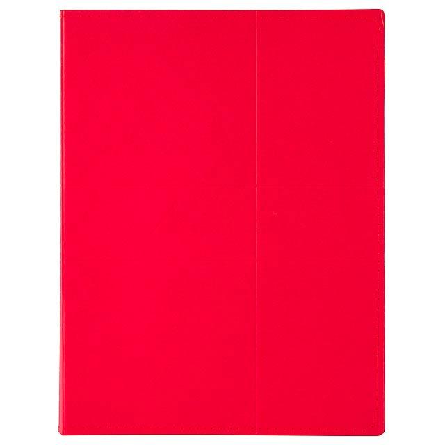 Comet sloha na dokumenty - červená