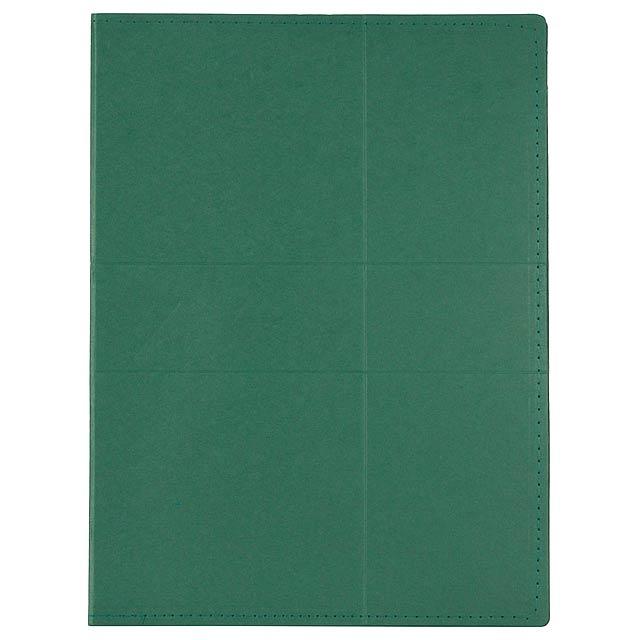 Comet sloha na dokumenty - zelená