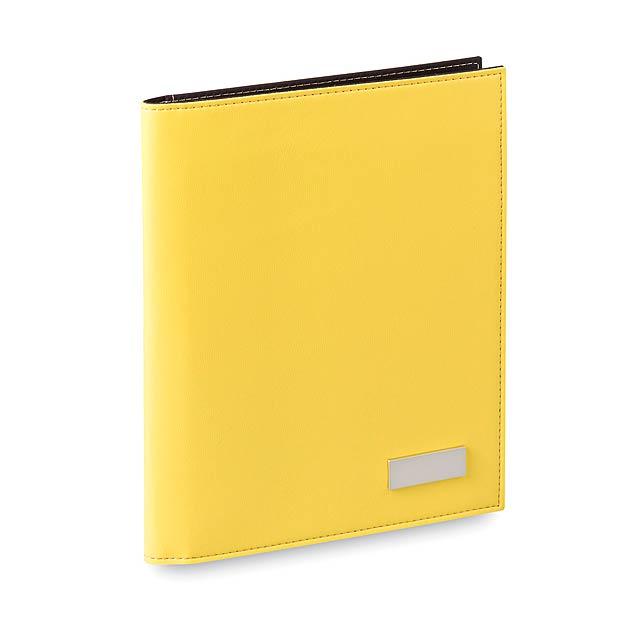 Eiros sloha na dokumenty - žlutá